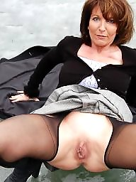Pantyhose, Mature pantyhose, Amateur mature