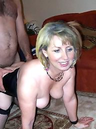 Milf blowjob, Husband