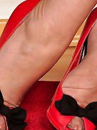 Maduras medias pies