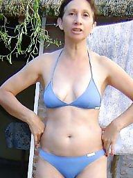 Mature milf bikini