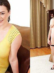 Milf dressed undressed, Dressed, Milf tits
