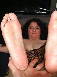 Bbw wide feet fuck