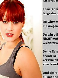 Femdom captions, German captions, Caption, Femdom caption, German caption, German
