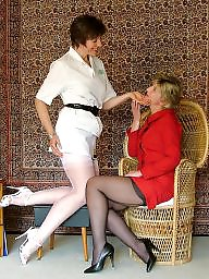Sara, Mature stockings, Miss jones
