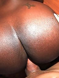 Interracial, Ebony ass, Butt