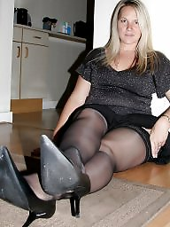 Mature dressed, Dressed, Mature dress, Dress, Mature stockings, Mature stocking