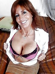 Milf bra, Mature bra, Milf flashing