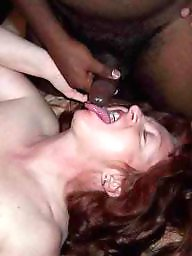 Mature interracial, Amateur mature