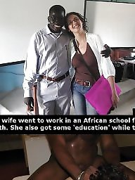 Captions breeding cuckold wife interracial
