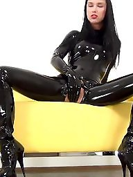 Mom, Mature pvc, Pvc, Mature leather, Boots, Leather milf