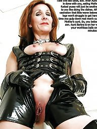Mature femdom, Mother, Castration