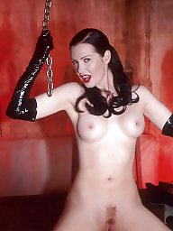 Black stockings, Posing, Latex, Dungeon