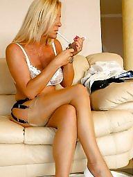 Mature smoking, Smoking mature, Mature blonde, Smoking, Blonde mature