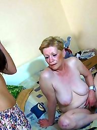 mature fucked with strapon
