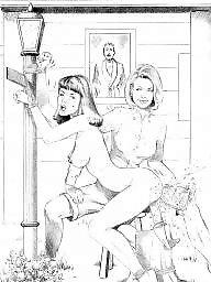Cartoon lesbian, Lesbian cartoons, Cartoon bdsm, Bdsm cartoons, Lesbian cartoon, Rebecca