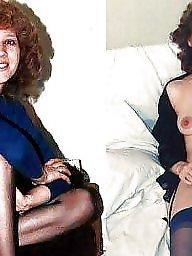 Dressed undressed, Vintage, Milf, Milfs