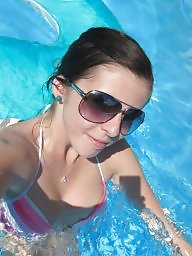 Teen amateur, Posing, Swim
