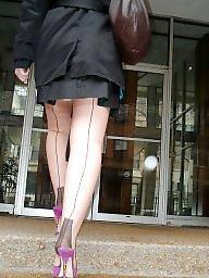 Stockings heels, Stockings heel amateur, Stockings and heels, Stockings & heels, Stocking heels, Stocking and heels