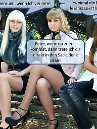 Femdom caption, Femdom captions, Nylon captions, Caption, Nylon, Nylons