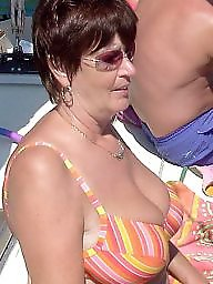 Mature busty, Busty mature, Holiday, Busty amateur, Mum, Mature boobs
