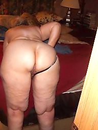 Saggy, Mature ass, Spanking, Whore