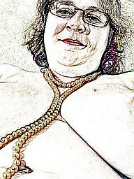 Bbw mature, Cartoon, Bbw cartoon, Cartoons