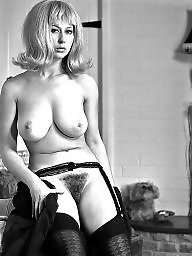 Vintage stockings, Hairy stockings, Retro, Hairy retro, Vintage, Stockings hairy