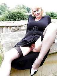 Old, Granny, Mature, Flashing, Mature amateur, Old granny