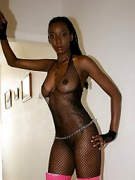 Stockings fishnets, Stockings ebony, Stockings and ass, Stocking ebonies, In black, Fishnets