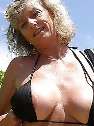 Granny beach, Mature, Mature beach, Beach, Granny boobs, Big boobs
