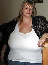 Clothed, Huge tits, Huge