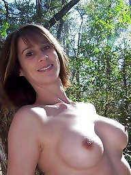 Posing, Milf fuck, Pose, Outdoor