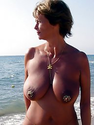 nipple Biggest milf