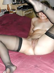 Housewife, Nylons, Mature housewife, Mature stocking, Mature nylon, Nylon mature