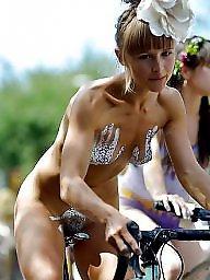 Tits on a bike