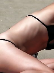 Amateur thong, Thong beach, Thong