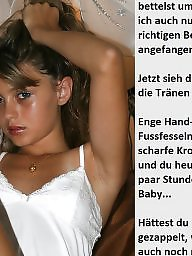 German captions, Femdom captions, Caption, Teen captions, Teen femdom, German