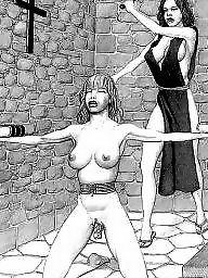 Bdsm cartoons, Drawings, Bdsm cartoon, Bondage, Cartoons
