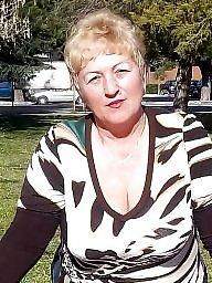 Granny boobs, Busty granny