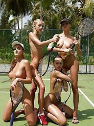 Posing, Tennis