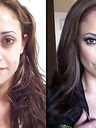 Before and after, Before after, Cartoons, Cartoon, Makeup, Before