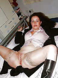 Wide open, Wide, Nylon mature, Open, Mature nylons, Mature nylon
