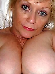 Uk mature, Uk milf, Flashing tits, Helen