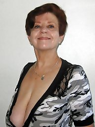 Granny boobs, Granny, Busty mature