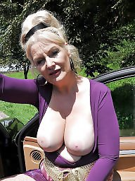 Mature big tits, Grandma, Fat mature, Fat tits, Fat boobs, Big mature