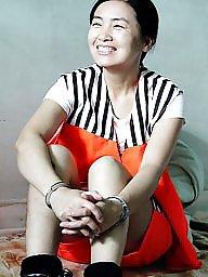 Chinese, Prison, Posing