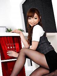 Asian upskirt, Office