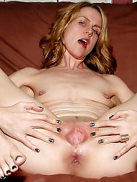Wide, Blond mature, Nicole