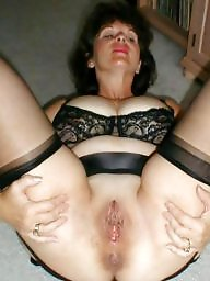 Mature, Stockings, Stocking