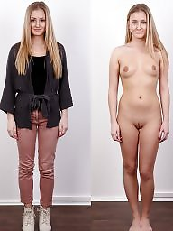 Teens dressed undressed
